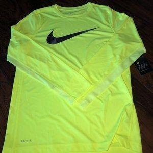 Boy's Nike Dri-Fit Long Sleeve T-shirt
